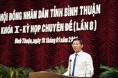 Thủ tướng phê chuẩn Chủ tịch UBND tỉnh Bình Thuận