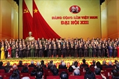 Đại hội Đảng toàn quốc lần thứ XIII thành công tốt đẹp