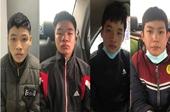 4 anh em ruột tổ chức cướp tài sản manh động ở Hà Đông