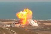 Nguyên mẫu phi thuyền Starship thử nghiệm của SpaceX lại nổ tung khi hạ cánh