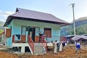 Nhiều hộ dân ở Trà Leng sẽ được nhận nhà trước Tết Nguyên đán