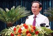 Ủy viên Bộ Chính trị, Bí thư Thành ủy TP HCM Nguyễn Văn Nên Bảo vệ pháp luật để an dân, phát triển