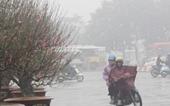 Miền Bắc có mưa vài nơi, đêm và sáng trời rét do ảnh hưởng của không khí lạnh tràn về