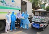 Vinamilk hỗ trợ sữa cho hơn 800 trẻ em đang cách ly tại Hà Nội, Hải Dương và Hải Phòng