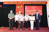 Trao Bằng Tổ quốc ghi công cho thân nhân hai liệt sĩ Công an Đà Nẵng