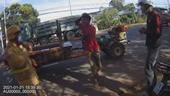 Vác dao rượt chém CSGT, người đàn ông bị khởi tố