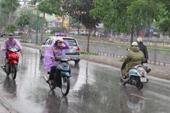 Không khí lạnh gây mưa, rét đậm ở Bắc Bộ