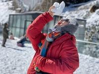 Fansipan phủ trắng tuyết ngày 29 Tết