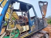 Bí ẩn xe máy múc 800 triệu đồng bị cháy rụi trong đêm 29 Tết