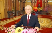Tổng Bí thư, Chủ tịch nước Nguyễn Phú Trọng Phát huy sức mạnh và ý chí vươn lên của dân tộc