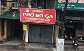 Hình ảnh quán ăn đường phố, cà phê ở Hà Nội đóng cửa phòng chống dịch COVID-19