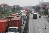 Hạn chế tối đa phương tiện chạy trên Quốc lộ 5