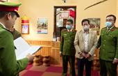 Khởi tố, bắt tạm giam nguyên Phó Giám đốc Sở Y tế Sơn La