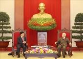 Tổng Bí thư, Chủ tịch nước Nguyễn Phú Trọng tiếp Ủy viên Quốc vụ, Bộ trưởng Bộ Công an Trung Quốc