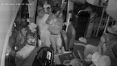 Nhóm người vác dao lên xe khách hung hãn hành hung người