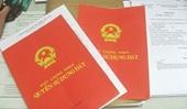 Hà Nội Khuyến cáo người dân kiểm tra nội dung trang 4 sổ đỏ