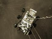 NASA công bố cảnh quay thót tim tàu thăm dò Perseverance hạ cánh xuống sao Hỏa