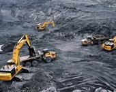 Đánh sập đường dây khai thác than trái phép cực khủng ở Quảng Ninh