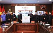 Báo Bảo vệ pháp luật đã tặng 166 000 khẩu trang y tế, chung tay phòng chống đại dịch