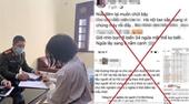 Xử phạt một phụ nữ vì xúc phạm cán bộ và người dân Hải Dương trên mạng