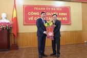 Bí thư Quận ủy Tây Hồ giữ chức Giám đốc Sở KH ĐT TP Hà Nội