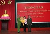 Phó Giám đốc Công an tỉnh Hà Nam làm Giám đốc Công an tỉnh Lâm Đồng