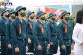 Hơn 1 200 thanh niên Đà Nẵng lên đường nhập ngũ