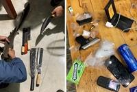 Bắt đối tượng truy nã mang theo súng và 6 viên đạn