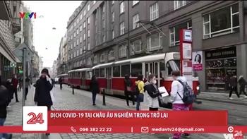 Dịch COVID-19 tại Châu Âu nghiêm trọng trở lại