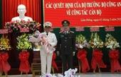 Công bố quyết định bổ nhiệm Giám đốc Công an tỉnh Lâm Đồng
