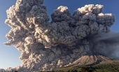 Hình ảnh đáng sợ khi núi lửa Sinabung Indonesia phun trào dữ dội