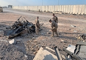 Căn cứ không quân Al Asad của Mỹ ở Iraq lại bị hứng mưa rocket