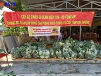 Chung tay giải cứu nông sản Hải Dương