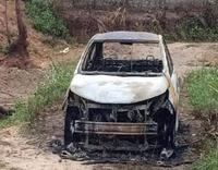 Côn đồ chém 2 người trọng thương, đốt xe ô tô của nạn nhân