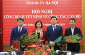 Bí thư Quận ủy Thanh Xuân được bổ nhiệm giữ chức Giám đốc Sở Tài chính TP Hà Nội