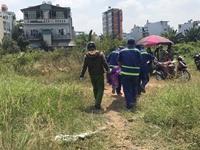 Điều tra cái chết bất thường của người đàn ông trong bãi đất trống