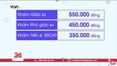 Bộ Y tế yêu cầu Bệnh viện Bạch Mai không tăng giá các dịch vụ khám chữa bệnh