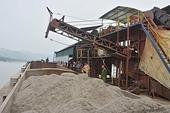 Thanh tra Chính phủ chỉ ra nhiều vi phạm trong khai thác cát, sỏi tại tỉnh Hòa Bình