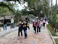 Di tích Quốc gia đặc biệt chùa Thầy đã mở cửa đón khách từ 8 3