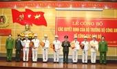 Công an Quảng Bình điều động công tác 7 Trưởng phòng, Trưởng Công an các huyện