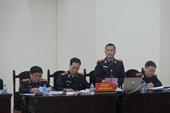 Xét xử vụ Ethanol Phú Thọ Bị cáo Đinh La Thăng bị đề nghị tuyên phạt từ 12 đến 13 năm tù