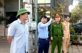 Sau phản ánh của Báo BVPL Bí thư Thành ủy Hà Tĩnh trực tiếp kiểm tra, chỉ đạo khắc phục tại hiện trường