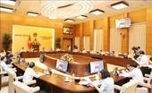 Chương trình dự kiến phiên họp thứ 54 của Ủy ban Thường vụ Quốc hội