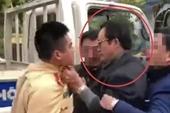 Kỷ luật Cảnh cáo Chi Cục trưởng say rượu, túm cổ áo Cảnh sát giao thông