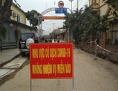 Một người ở Quảng Ninh hết cách ly thì phát hiện dương tính COVID-19