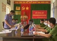 Kiểm sát trực tiếp tại trại tạm giam Công an tỉnh Đắk Nông