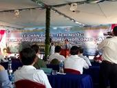 Chặn dòng hồ chứa nước lớn nhất tỉnh Ninh Thuận