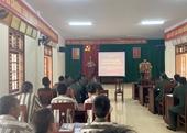 VKSQS Quân khu 4 tuyên truyền, giáo dục pháp luật tại trại tạm giam