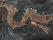 Kinh ngạc với phát hiện hình thù lạ mang hình con rồng trên sao Hỏa