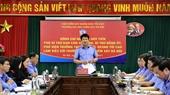 Lãnh đạo VKSND tối cao làm việc với Trường Đại học Kiểm sát Hà Nội